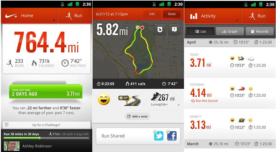 nike-running-android-app